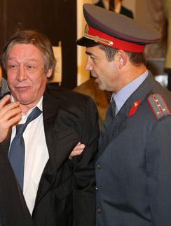 Михаил Ефремов и Дмитрий Певцов
