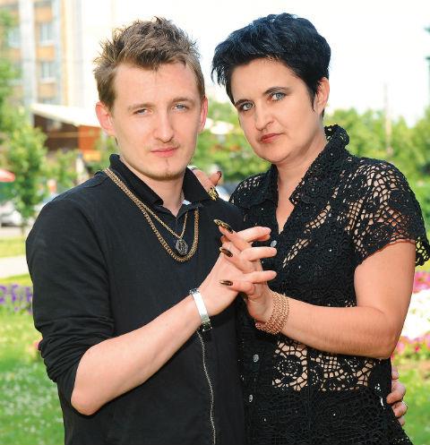 Влад Кадони с мамой Еленой Голуновой