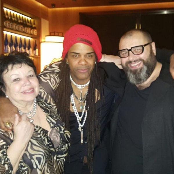 «Эндрю Дональдс, мама и я», - подписал снимок Максим Фадеев.