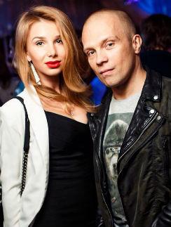 DJ Грув с супругой Александрой
