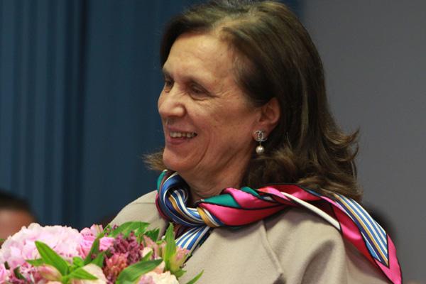 Мама хоккеиста Татьяна Овечкина