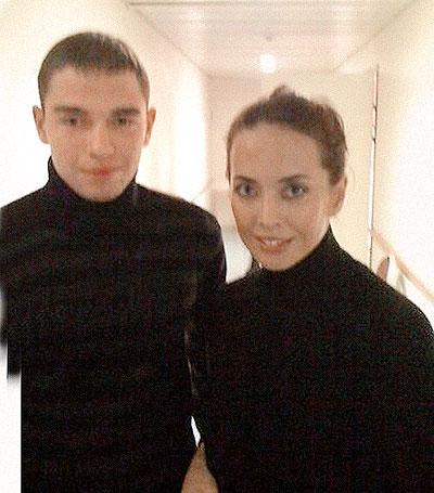 Станислав Калинкин и Жанна Фриске