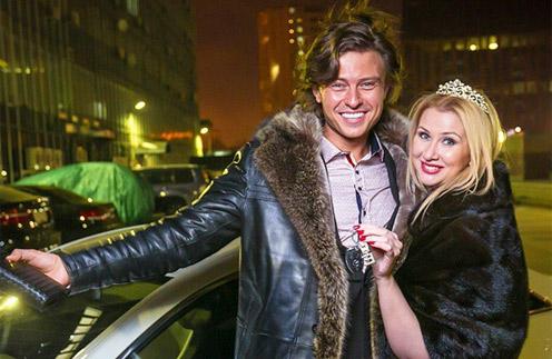 Прохор Шаляпин с новой подругой Дианой