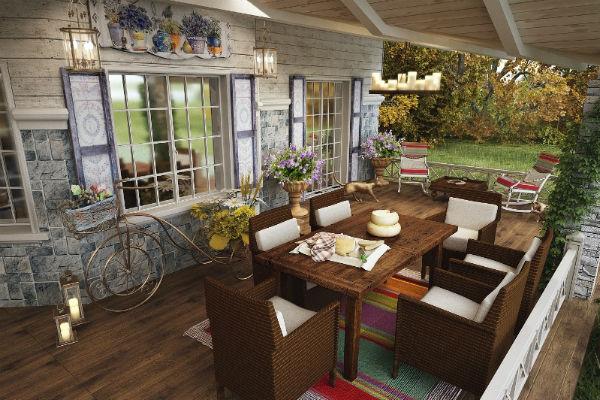 Мебель для дома площадью более 400 кв. м заказали в Англии и Италии