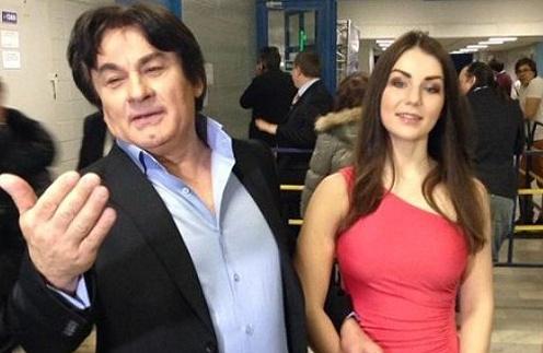 Александр Серов и Елизавета Семичастнова