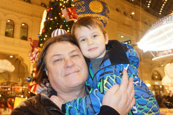 Игорь Удалов с сыном