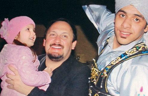 Иванка вытащила папу посмотреть национальное арабское шоу