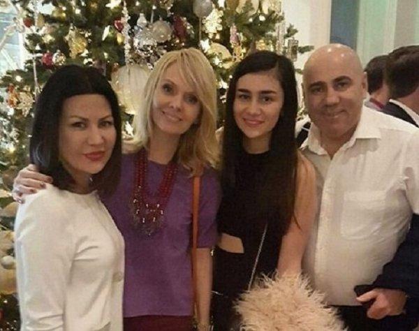 Лейла Фаттахова, Валерия, Лиза Пригожина и Иосиф Пригожин