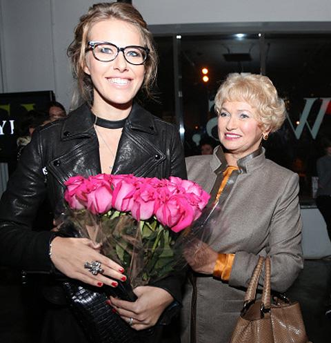 Ксения Собчак и Людмила Нарусова