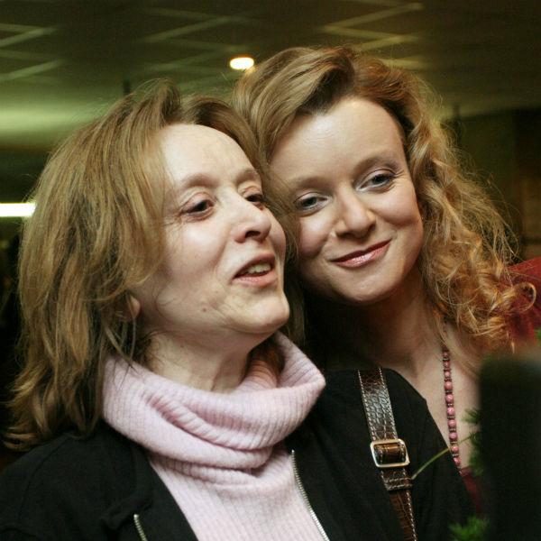Актриса с дочкой Анной