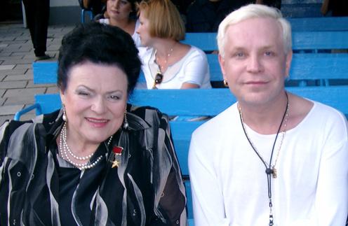 Борис Моисеев и Людмила Зыкина