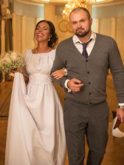 Снежана Лебединская с мужем