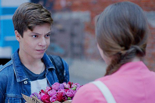 В популярном сериале Егор Клинаев сыграл Никиту Серебрянского, ухажера героини Полины Гренц