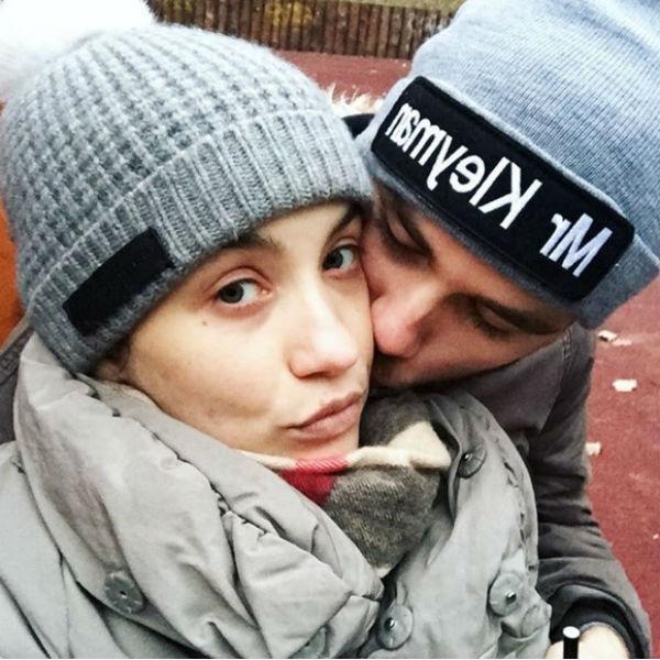 Виктория Дайнеко и ее муж Дмитрий Клейман