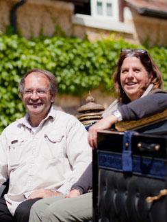 Фредерик Арди и его жена Кароль  создали более четырехсот экипажей для кино