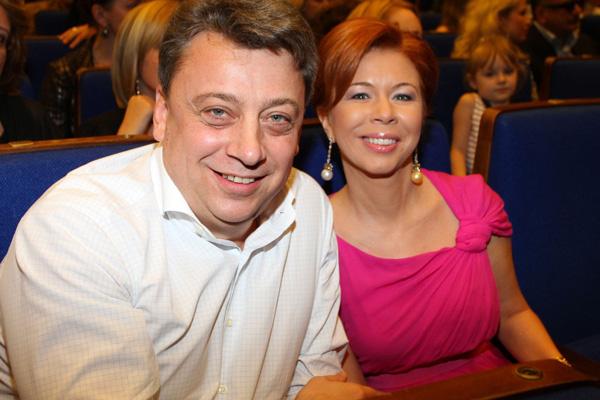 Дмитрий Галкин с супругой