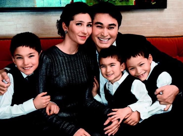 В семье Армана Давлетярова родился пятый ребенок