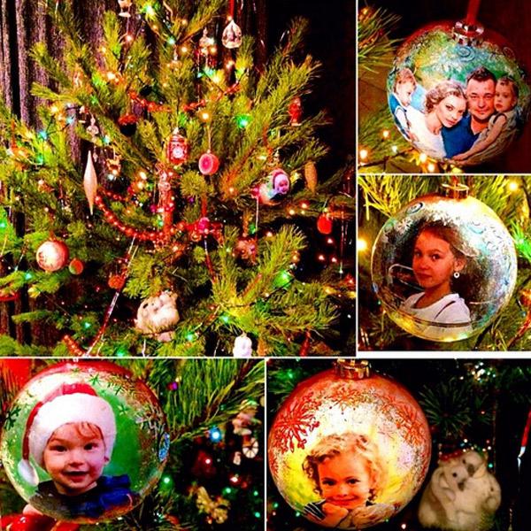 Сергей Жуков украсил свою новогоднюю ель эксклюзивными шарами
