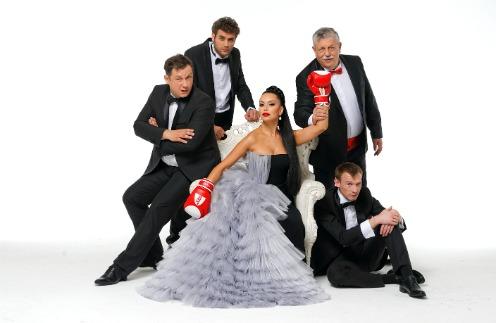 Актеры спектакля «О, женщины!»