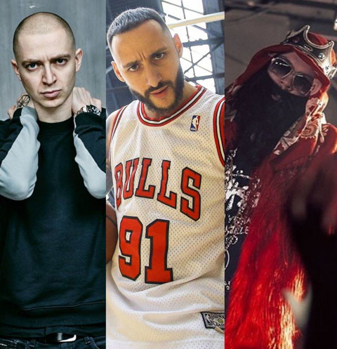 Oxxxymiron, L'One и Big Russian Boss