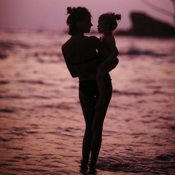 Елена Подкаминская с дочерью Полиной
