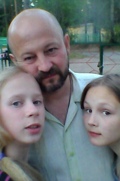 У папы и  дочек полное  взаимопонимание
