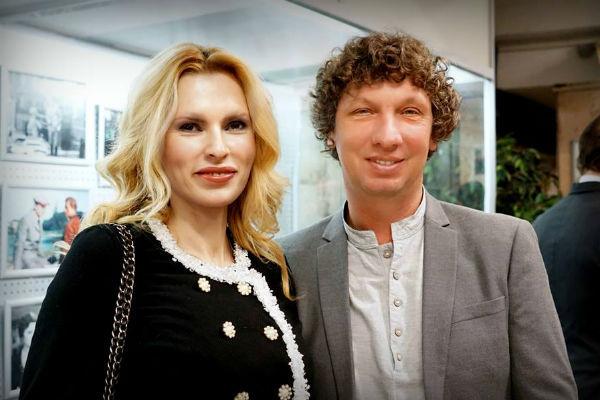 Елизавета Круцко с нынешним мужем, оператором Сергеем Шульцем