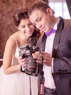 Алиана Устиненко и Александр Гобозов приняли участие в свадебной фотосессии