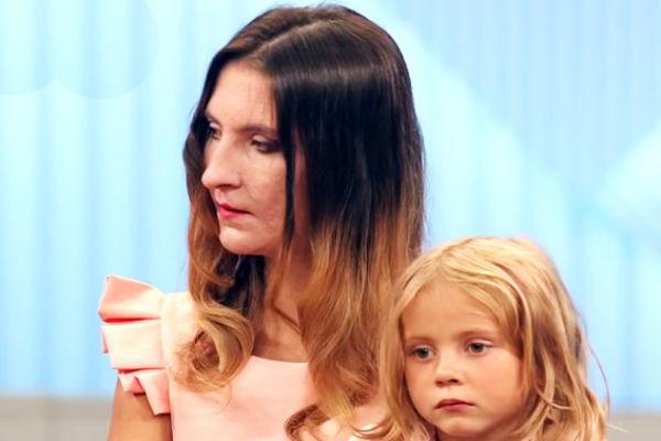Людмила Лемох с дочерью