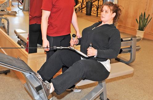 – Для каждого занятия тренер разрабатывает новый комплекс упражнений