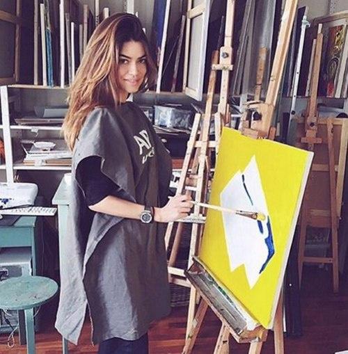 Наталья Ткалина любит рисовать