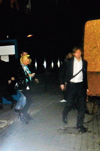 После матча Лера и Игорь вышли со служебного входа