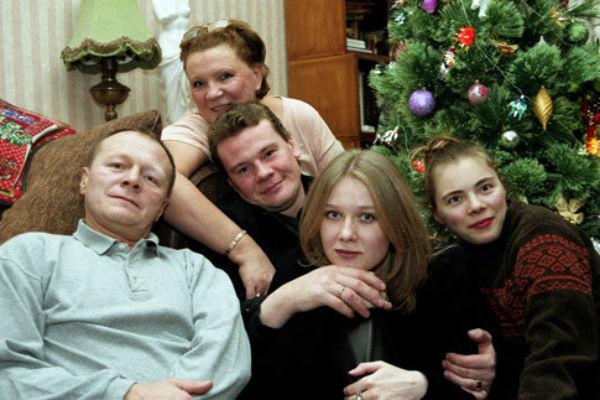 Семья Галкиных несколько лет назад