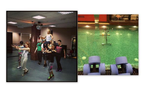 Кристина Орбакайте поддерживает форму благодаря танцам и бассейну
