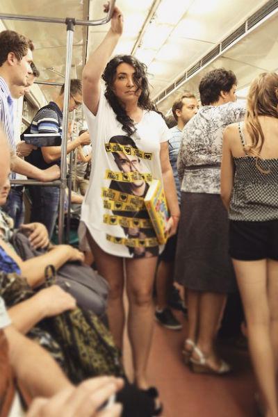 Лолита в московском метро