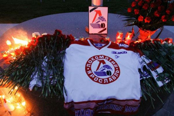 Трагическая гибель хоккеистов стало причиной для многодневной скорби