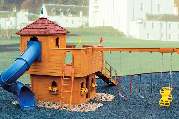 Макет дома для Дани. Его строительство обойдется в миллион рублей