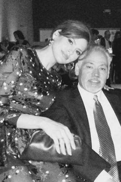 Ева Мендес с братом Карлосом