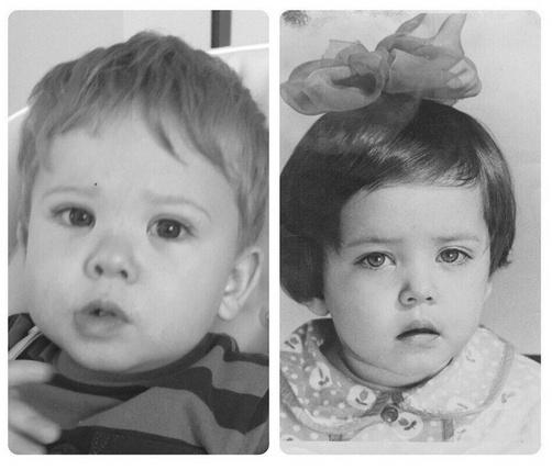 Сын Жанны Фриске Платон (слева) очень похож на свою знаменитую маму