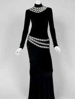 Платье, в котором Уитни Хьюстон не раз исполняла песню I Will Always Love You