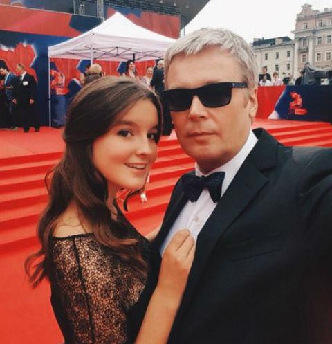 Александр Стриженов и его дочь Саша