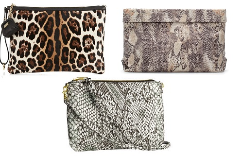 Клатчи Dolce&Gabbana, H&M, Zara