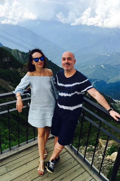Артист отвез семью на шикарный курорт