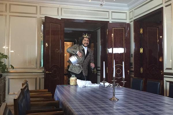 Артист с радостью принял предложение Первого канала