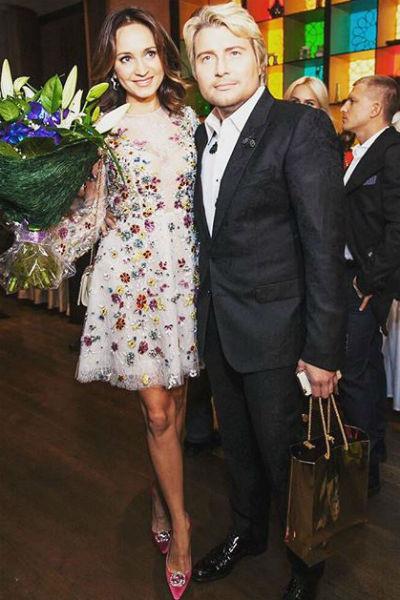 Николай счастлив со своей избранницей
