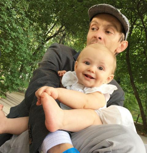 Евгений с дочкой Никой