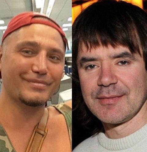 Рустам Солнцев и Евгений Осин
