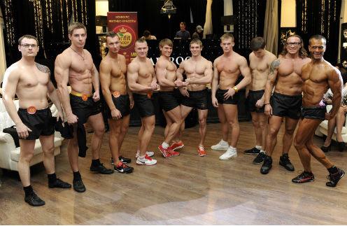 Финалисты фитнес-конкурса Onfit Body 2012