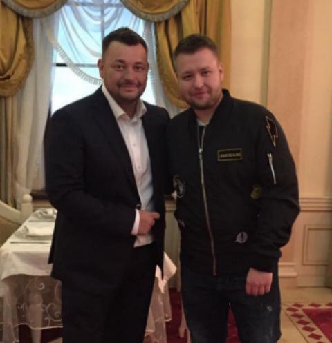 Сергей Жуков с братом Михаилом