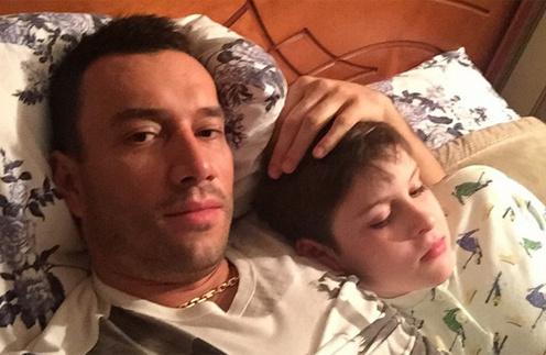 Михаил Терехин с сыном Даней